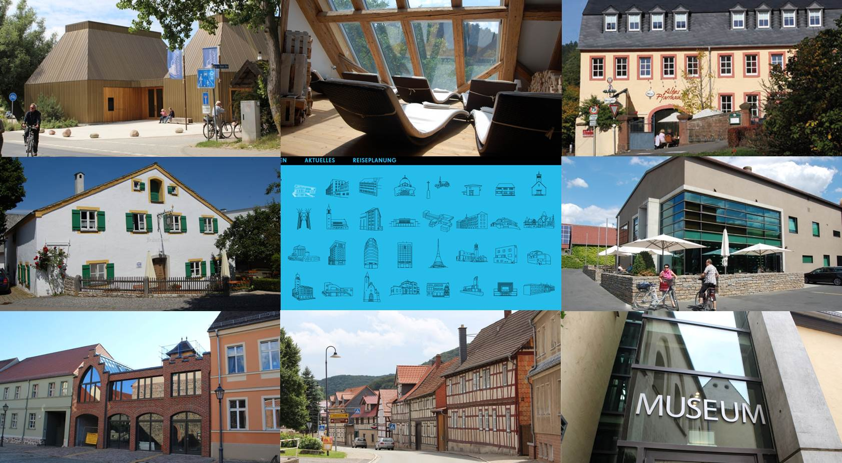 Selection of good examples of regional building culture in Germany